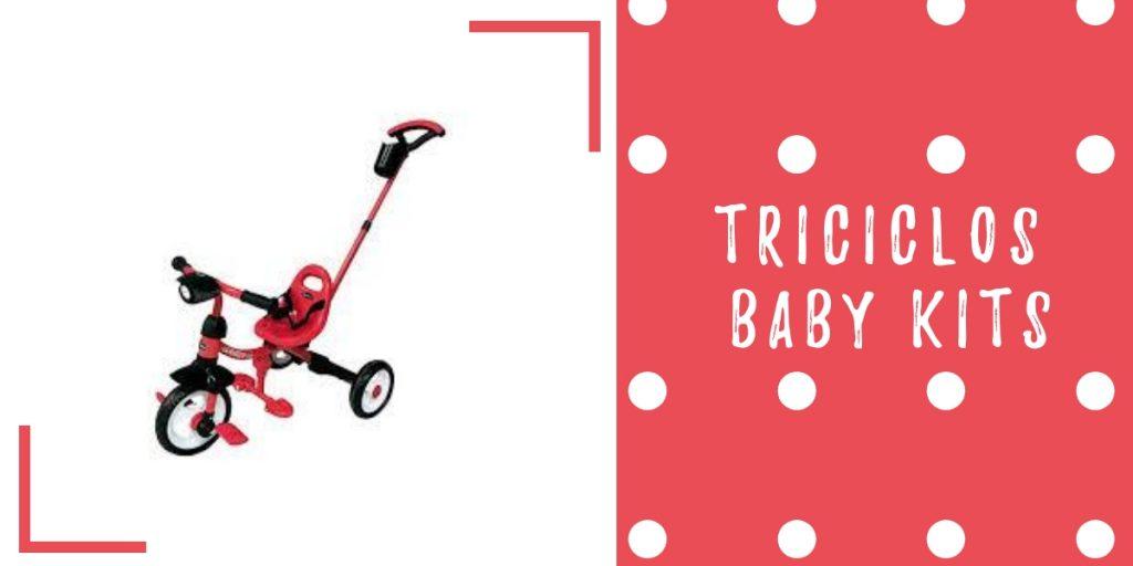 triciclo baby kits smiler rojo - triciclos para niños - triciclos infantiles