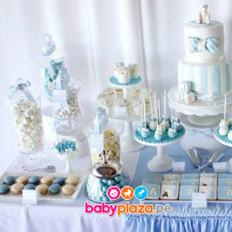 mesa de dulces para bautizos