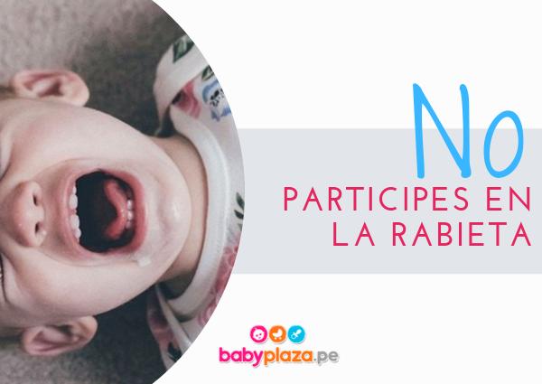 rabietas en bebés de 6 meses