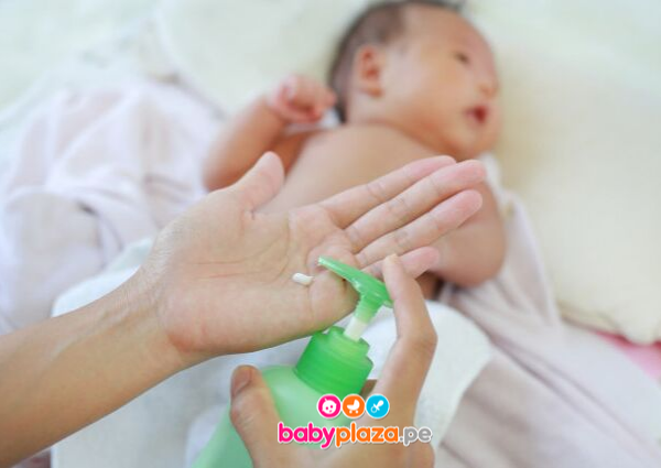 crema para escaldaduras de bebé