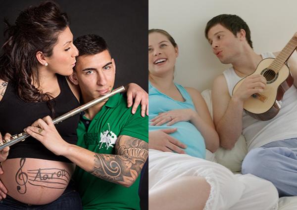 ropa de maternidad y fotos