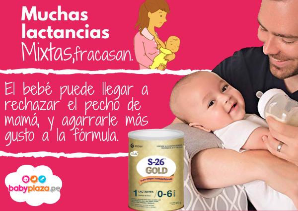 lactancia artificial