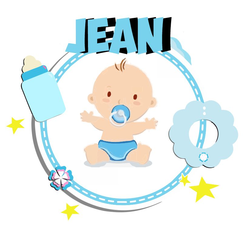 Nombres bonitos para niños:  El misericordioso Jean