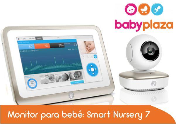 Monitor para bebe  Smart Nursery 7