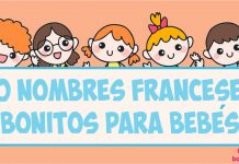 nombres franceses para bebés