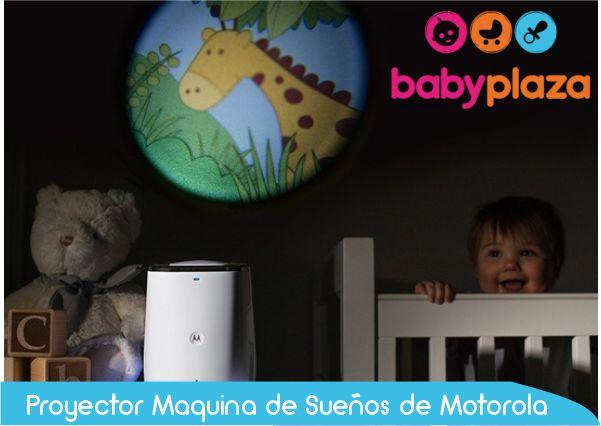Proyector - monitor de bebe motorola