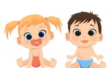 cartoon kids illustration cute babies little boy girl pampers 178630 125