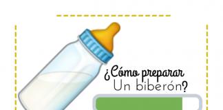 como preparar formula para bebe