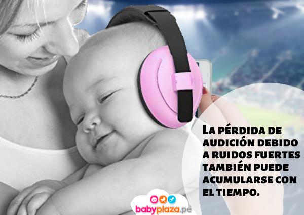 protectores de oídos para bebés kidco