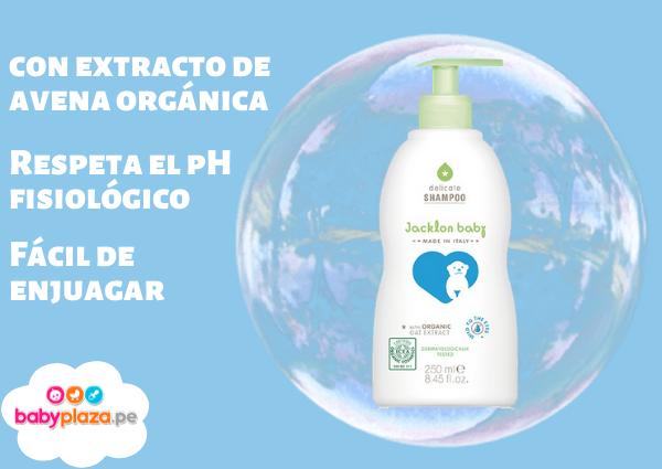 shampoo orgánico para bebé