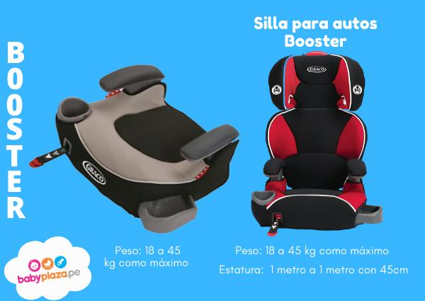 sillas de auto para niños o booster para auto