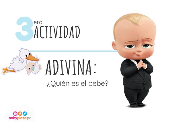 juegos para baby shower