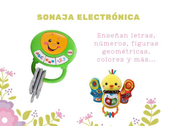sonajas electronicas