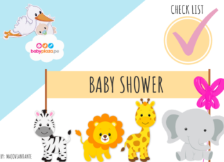 lista de regalos para baby shower