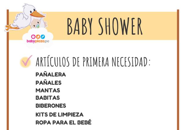 baby shower y regalos