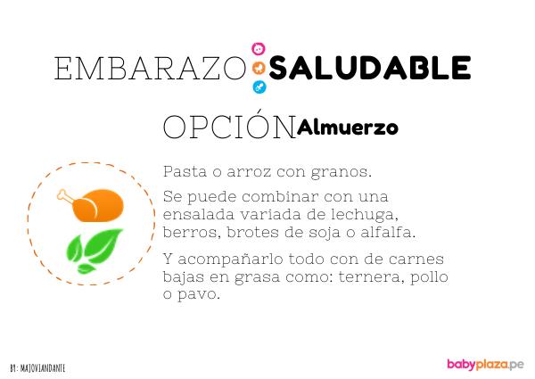 comidas saludables para embarazadas