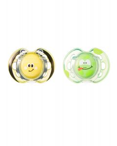 Chupones Fun Style 0-6M Abeja x 2 unidades-Tommee Tippee