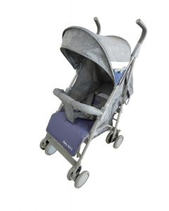 Baby Kits - Coche Bastón Luxe Gris