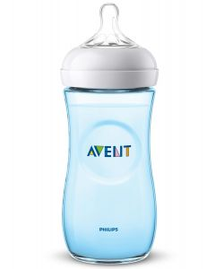 Philips Avent - Biberón Natural 2.0 Azul para Bebés de 330ml / 11oz