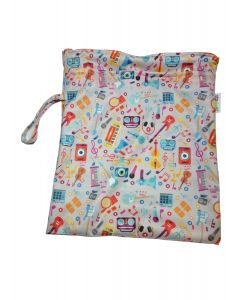 Bolsa Impermeable Chica para Pañales - Musical - Ecopipo