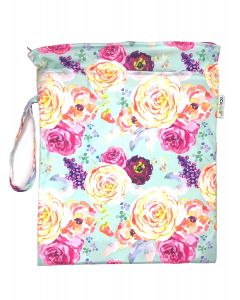 Bolsa Impermeable Chica para Pañales - Floral - Ecopipo