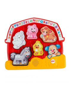 Fisher Price - Rompecabezas animalitos de la granja