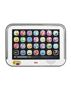 Fisher Price - Tablet de Aprendizaje para Bebés 9m+ Gris