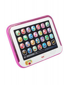 Fisher Price - Tablet de Aprendizaje para Bebés 9m+ Rosa