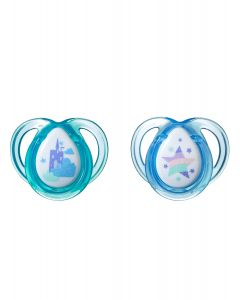 Chupones Every Day 0-6M Castillo x 2 unidades-Tommee Tippee