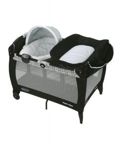 Graco - Cuna Corral Pack and Play + moisés y cambiador Napper Soother Teigen