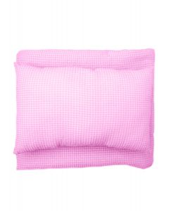 EDREDON PARA CUNA 112x140CM WAFER ROSA-SWEETIE