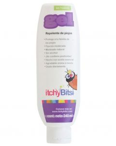 Itchy Bitsi Gel Fijador 240 ml Sin Alcohol