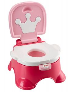 Fisher Price - Bacín de Entrenamiento Royal Rosa