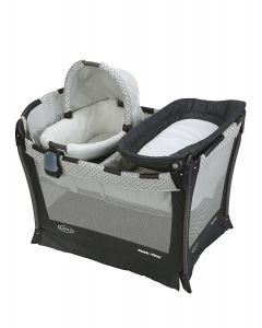 Graco - Cuna Corral Pack and Play + Moisés y cambiador Day 2 Night McKinley