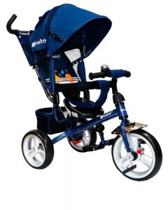 Triciclo Reclinable Turk Azul - Ebaby
