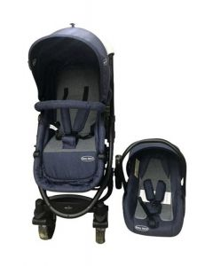 Baby Kits - Coche Travel Prima Plus Azul