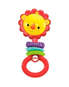Fisher Price - Sonaja Mordedor León Divertido 3m+