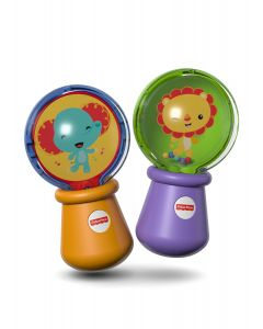 Fisher Price - Sonaja para Bebé Maracas Animalitos