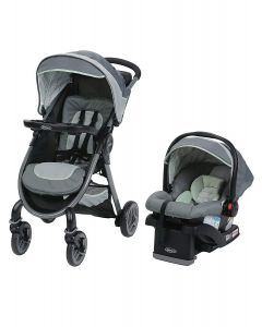 Graco - Coche Travel System Fast Action Fold Mason