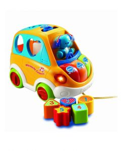 Vtech - Mini Auto/Carro Musical para Bebés Colorín