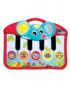 Playgro - Piano Musical con Luces Bebés Pataditas 0m+ 0186367