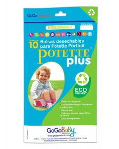Potette Plus - Bolsas de Repuesto Biodegradables