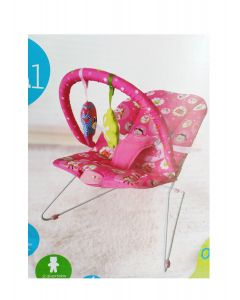 Baby Kits - Mecedora Bouncer Safari Rosado