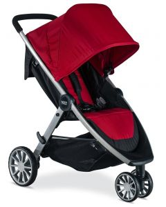Britax - Coche B-Lively Cardinal