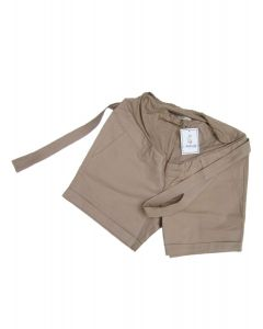 Short Drill Beige  - Maternity Basics