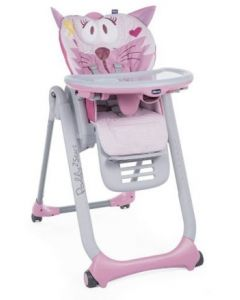 Silla de Comer Polly 2 Star Miss Pink - Chicco