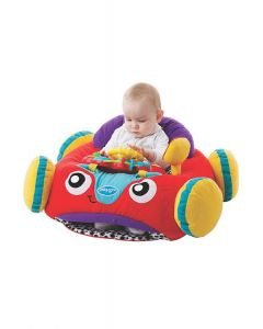 Playgro - Asiento Musical Comfy Car Rojo