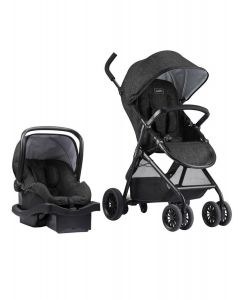 Evenflo - Coche Travel System Evenflo Sibby Litemax Charcoal