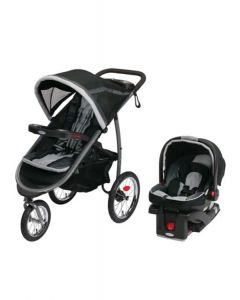 Graco - CocheTravel System Srck35 Fast Action Fold Jogger Gotham